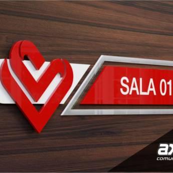 Comprar o produto de Sinalização Corporativa  em Comunicação Visual em Foz do Iguaçu, PR por Solutudo