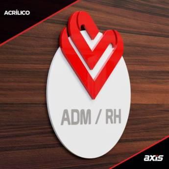 Comprar o produto de Acrílico  em Comunicação Visual em Foz do Iguaçu, PR por Solutudo