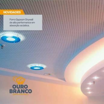 Comprar o produto de Forro Gypsum Drywall em Gesso em Foz do Iguaçu, PR por Solutudo