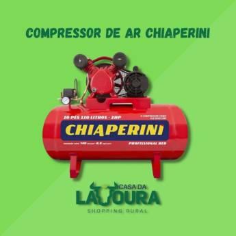 Comprar produto Compressor de ar Chiaperini em Compressores pela empresa Casa da Lavoura em Mineiros, GO