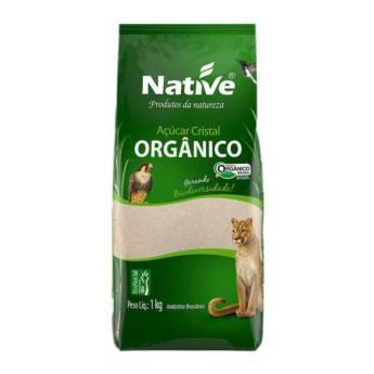 Comprar o produto de Orgânicos Açúcar Cristal Orgânico Native 1Kg em Açúcar Mascavo pela empresa Viva Natural  em Foz do Iguaçu, PR por Solutudo