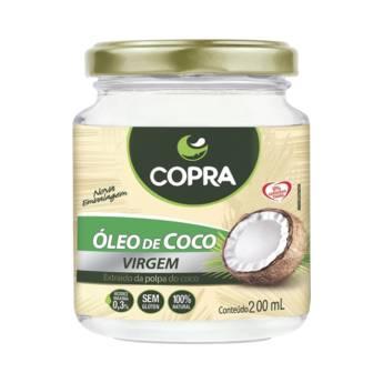 Comprar o produto de Óleo de Coco Virgem 200ml - Copra Coco em Óleo de Coco pela empresa Viva Natural  em Foz do Iguaçu, PR por Solutudo