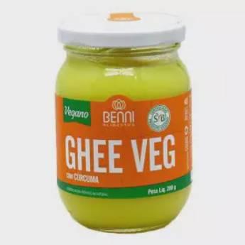 Comprar o produto de Manteiga Ghee Veg com Cúrcuma Benni 200g em Vegetariano | Vegano pela empresa Viva Natural  em Foz do Iguaçu, PR por Solutudo