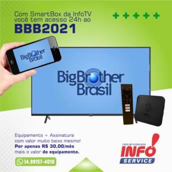 Comprar produto SmartBox em Equipamentos e Acessórios de Informática - Eletrônicos pela empresa Info Service em São Manuel, SP