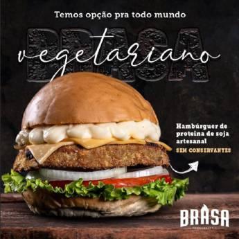 Comprar produto Vegetariano  em Hamburguerias pela empresa Brasa Hamburgueria Artesanal  em Botucatu, SP