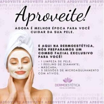 Comprar o produto de Combo Facial Exclusivo Inverno em Clínicas de Estética e Beleza em Foz do Iguaçu, PR por Solutudo