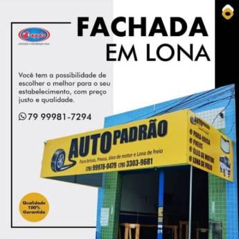 Comprar produto Fachada em Lona em Indústria Gráfica e Impressão pela empresa Apple Confecções e Comunicação Visual em Aracaju, SE