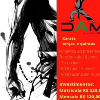 Comprar o produto de Aulas de Karatê em Academias e Esportes em Jundiaí, SP por Solutudo