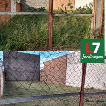 Comprar produto Limpeza de terreno em Jardinagem pela empresa L7 Jardinagem em Botucatu, SP