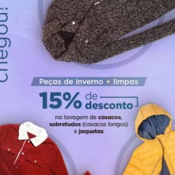Comprar o produto de Peças de Inverno + Limpas em Lavanderias pela empresa Lavanderia Mary em Foz do Iguaçu, PR por Solutudo