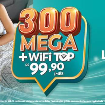 Comprar o produto de 300 Mega + Wifi top - R$99,90 em Banda Larga - ADSL, Cable em Botucatu, SP por Solutudo