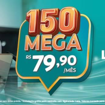 Comprar o produto de 150 Mega - R$79,90 em Banda Larga - ADSL, Cable em Botucatu, SP por Solutudo