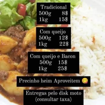 Comprar o produto de Nhoque Massa de Batata a Pronta Entrega em Ofertas: Alimentação em Botucatu, SP por Solutudo