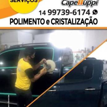 Comprar o produto de Polimento e Cristalização em Polimento Automotivo  pela empresa Capelluppi Martelinho de Ouro em Botucatu, SP por Solutudo