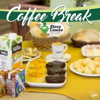 Comprar produto Coffee Break em Alimentos e Bebidas pela empresa Padaria - Restaurante - Marmitaria e Rotisserie Doce Limão em Botucatu, SP