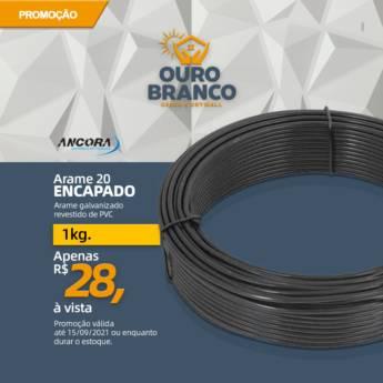 Comprar o produto de Arame 20 Encapado em Gesso em Foz do Iguaçu, PR por Solutudo