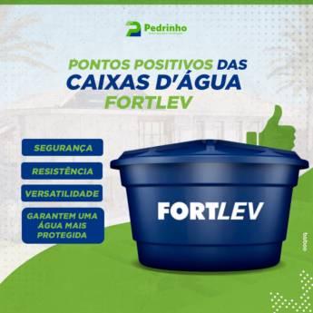 Comprar produto Caixas d'Água Fortlev em Materiais para Construção pela empresa Pedrinho Materiais para Construção - Loja 2 em Botucatu, SP