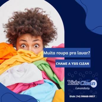 Comprar produto Muita roupa para lavar? em Lavanderias pela empresa Ysis Clean Lavanderia  em Botucatu, SP