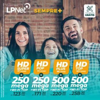 Comprar produto Combo Duplo em Provedores de Internet pela empresa LPNET - Revendedor Autorizado Cuesta Telecom em Botucatu, SP