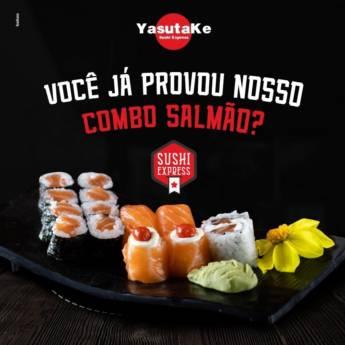 Comprar produto Combo Salmão em Ofertas: Bares e Restaurantes pela empresa Yasutake Sushi Express em Botucatu, SP