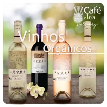 Comprar o produto de Vinhos orgânicos em Café Gourmet Orgânico em Botucatu, SP por Solutudo