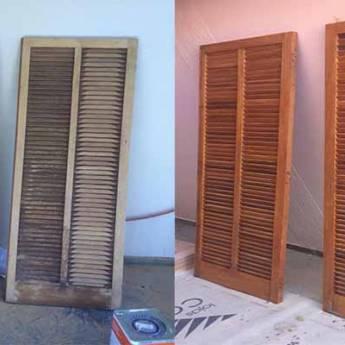 Comprar produto Restauração de Porta e Janelas em Restauração de Móveis e Peças pela empresa 3B Pinturas em Botucatu, SP