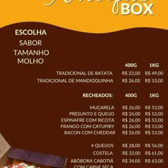 Comprar produto NHOQUE BOX   em Massas pela empresa La Laine Nhoques em Botucatu, SP
