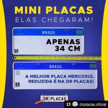 Comprar o produto de Mini Placas em Placas para Veículos em Bady Bassitt, SP por Solutudo
