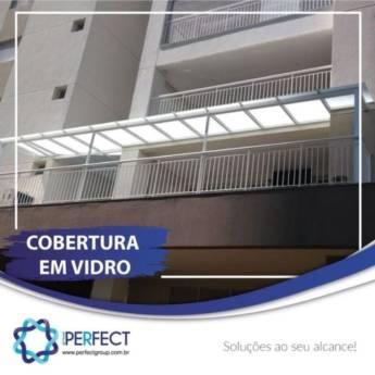 Comprar produto COBERTURA DE VIDRO  em Vidraçarias pela empresa Perfect Group - Botucatu em Botucatu, SP