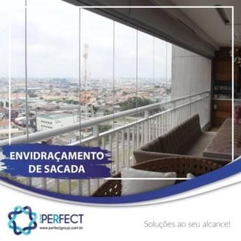 Comprar produto ENVIDRAÇAMENTO DE SACADA em Vidraçarias pela empresa Perfect Group - Botucatu em Botucatu, SP