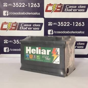 Comprar o produto de Bateria Heliar HF75PD em Baterias em Foz do Iguaçu, PR por Solutudo
