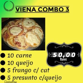 Comprar o produto de Viena Combo 3 em Pizzaria Delivery em Botucatu, SP por Solutudo