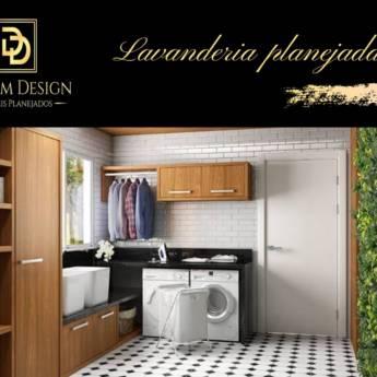 Comprar o produto de LAVANDERIA PLANEJADA - MÓVEIS PLANEJADOS  em Móveis Planejados - Marcenarias em Botucatu, SP por Solutudo