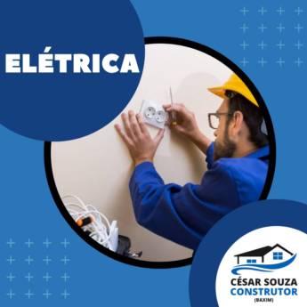 Comprar produto ELÉTRICA RESIDENCIAL PARA CONSTRUÇÃO OU REFORMA em Construção pela empresa César Souza - Construtor - Pinturas - Elétricas - Piscinas em Botucatu, SP
