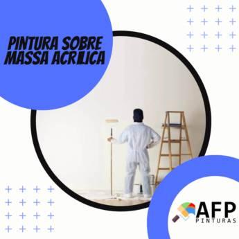Comprar o produto de PINTURA SOBRE MASSA ACRÍLICA em Construção em Botucatu, SP por Solutudo