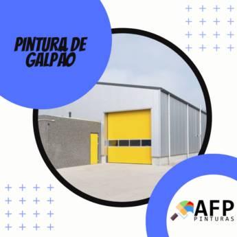 Comprar o produto de PINTURA DE GALPÃO em Construção em Botucatu, SP por Solutudo
