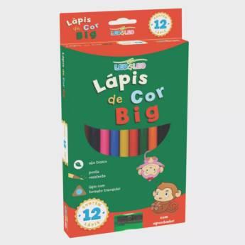 Comprar o produto de Lápis Big Triangular Leo&Leo em Materiais Escolares pela empresa Eloy Festas em Jundiaí, SP por Solutudo