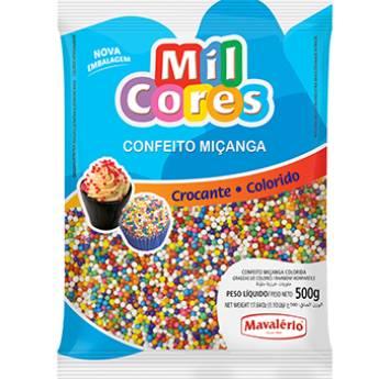 Comprar o produto de Confeito Miçanga Colorida Mavalério em Alimentos e Bebidas pela empresa Eloy Festas em Jundiaí, SP por Solutudo
