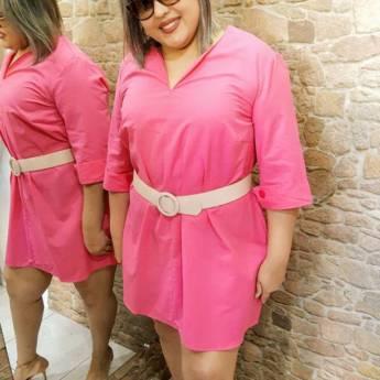 Comprar o produto de chemise flamingo (GG) em Moda Plus Size em Botucatu, SP por Solutudo