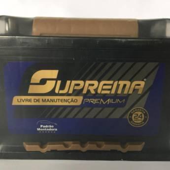 Comprar o produto de Bateria Suprema 60AH em Baterias em Foz do Iguaçu, PR por Solutudo