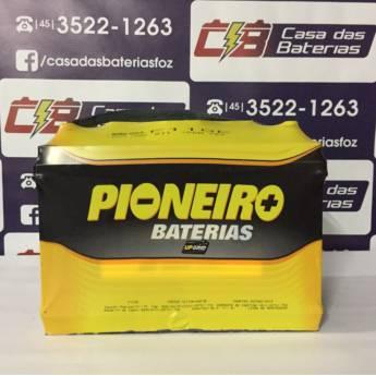 Comprar o produto de Bateria Pioneiro F110E em Baterias pela empresa Casa das Baterias em Foz do Iguaçu, PR por Solutudo