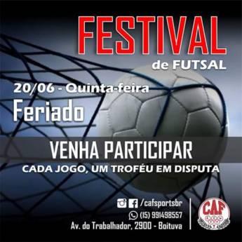 Comprar o produto de Festival de Futsal em Esportes pela empresa CAF - Centro de Atividade Física em Boituva, SP por Solutudo