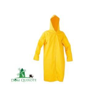 Comprar o produto de Capa de chuva em PVC - Amarela  em Impermeáveis e descartáveis pela empresa Dom Quixote Equipamentos de Proteção Individual em Jundiaí, SP por Solutudo