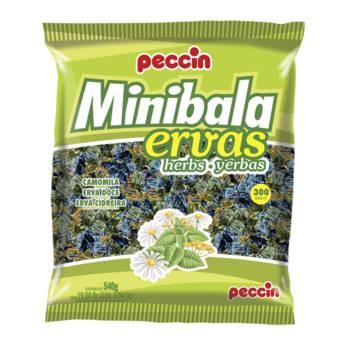 Comprar o produto de Minibala Ervas Peccin  em Alimentos e Bebidas pela empresa Eloy Festas em Jundiaí, SP por Solutudo