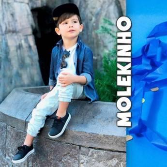 Comprar o produto de Molekinho em Masculino pela empresa Lojas Conceito Confecções e Calçados - Vestindo e Calçando Toda a Família em Atibaia, SP por Solutudo