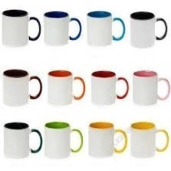 Comprar o produto de Caneca de porcelana coloridas em Canecas em Botucatu, SP por Solutudo