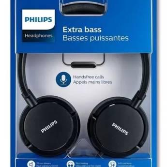 Comprar o produto de Headphone Philips Extra Bass em Eletrônicos, Áudio e Vídeo em Tietê, SP por Solutudo