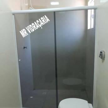Comprar produto Box de vidro para banheiro em Construção pela empresa MR Vidraçaria em Foz do Iguaçu, PR
