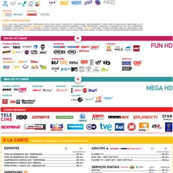 Comprar o produto de SKY PÓS-PAGO MEGA HD em Sky em Botucatu, SP por Solutudo