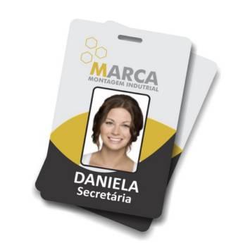 Comprar o produto de Crachás de Identificação em Documentos Impressos em Jundiaí, SP por Solutudo
